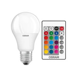 Крушка OSRAM 9W LED E27 RGB A60